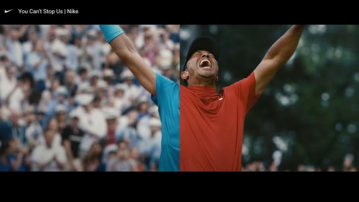 Beeld uit de veelgeprezen video 'You can't stop us' van Nike