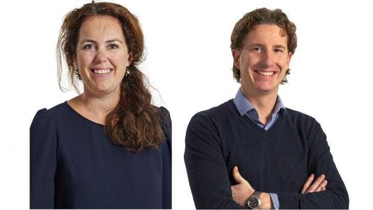 Marieke Jansen-Rentmeester en Joost Vossen