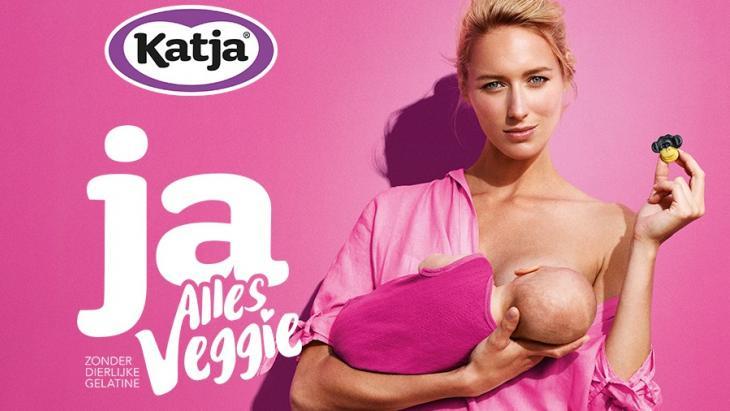 Vegetarisch snoepmerk Katja haakt in op de Borstvoedingsweek