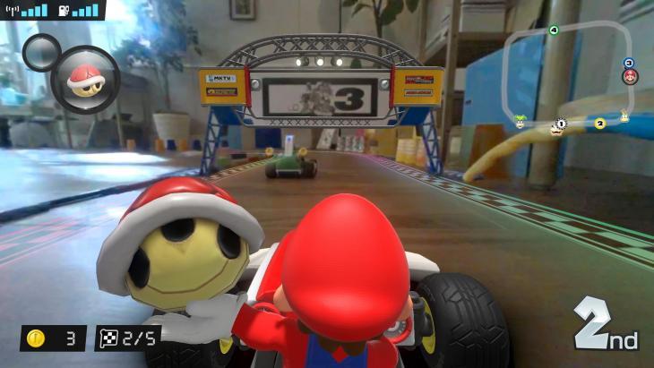 Mario Kart Live Circuit Home
