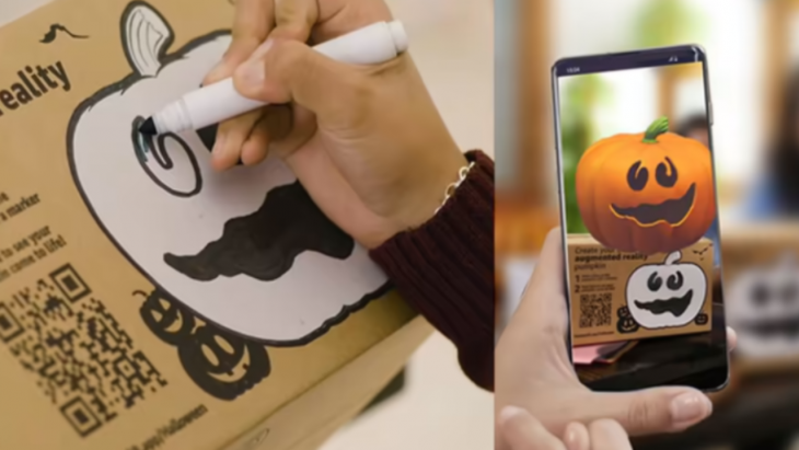 amazon ar app Halloween