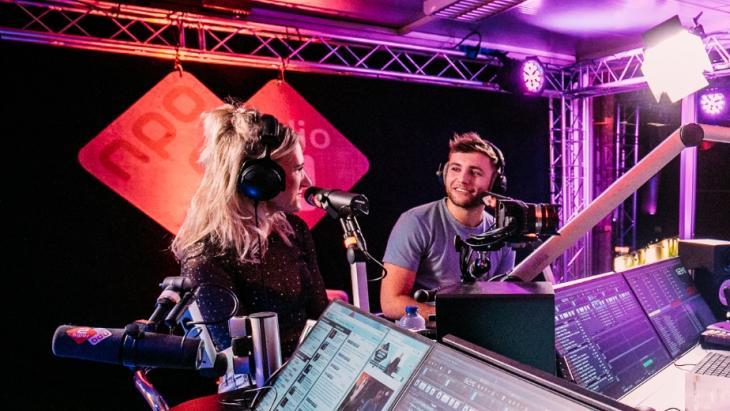 NPO Radio 2 studio