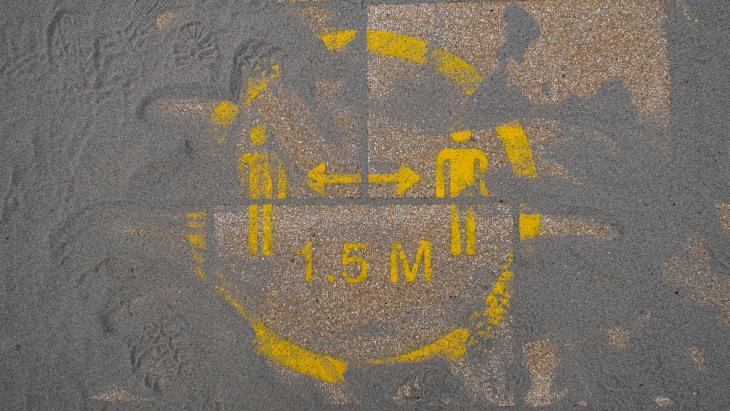 1,5 meter sign