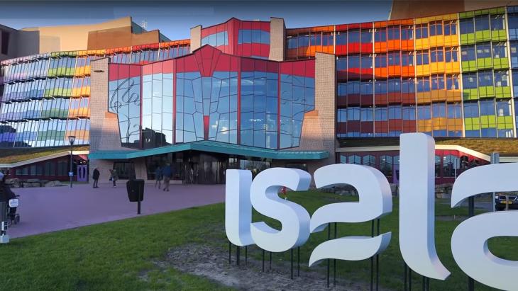 Het Isala Ziekenhuis in Zwolle