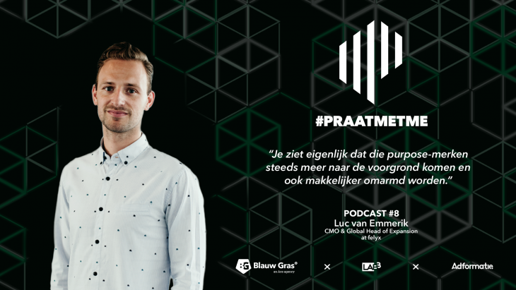 #PRAATMETME - Luc van Emmerik, chief marketing officer Felyx