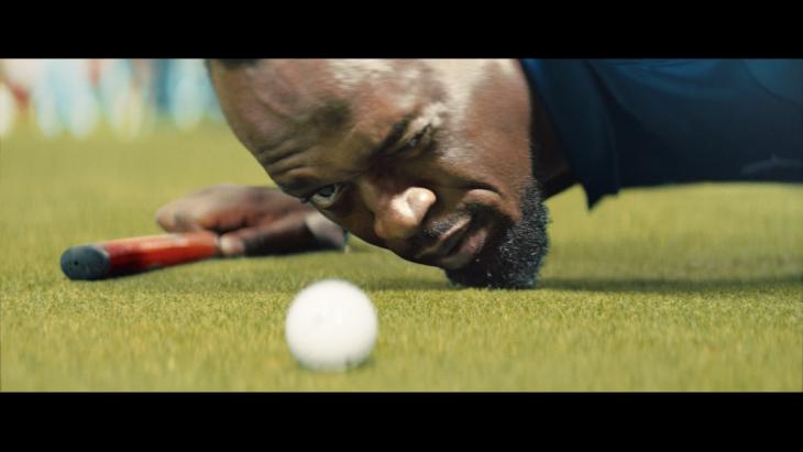 Sprinter Usain Bolt golft en ook daar liggen kansen