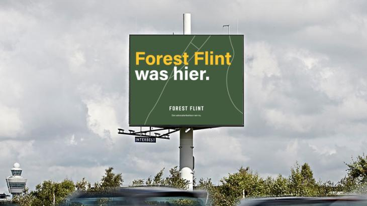 Forest Flint billboard