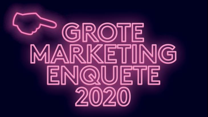 Grote Marketing Enquête 2020
