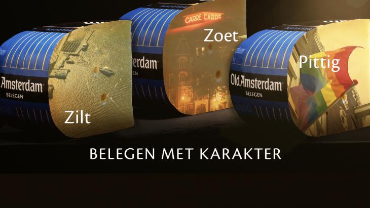 Old Amsterdam lanceert 'Belegen'-kaascampagne
