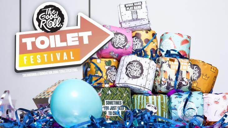 The Good Roll lanceert het allereerste Toilet Festival ooit