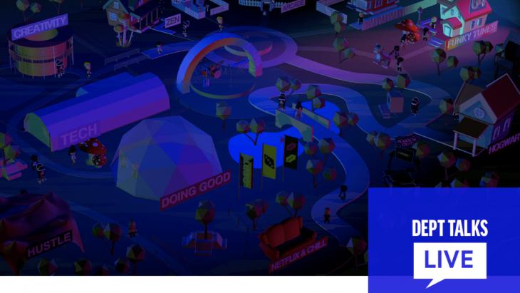 virtual 3D map
