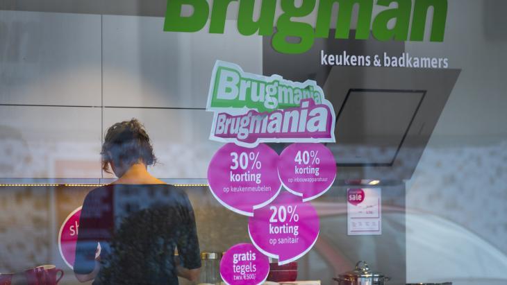 Brugman Keukens, een van de winkels van De Mandemakers Groep