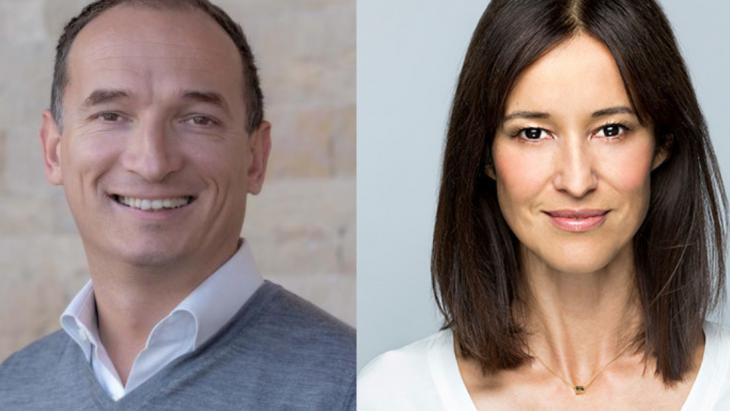 Tim van der Zanden en Sarah Backhouse