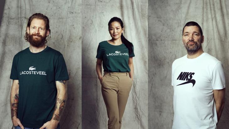 Merkwaardige t-shirts moeten armoedeprobleem aankaarten