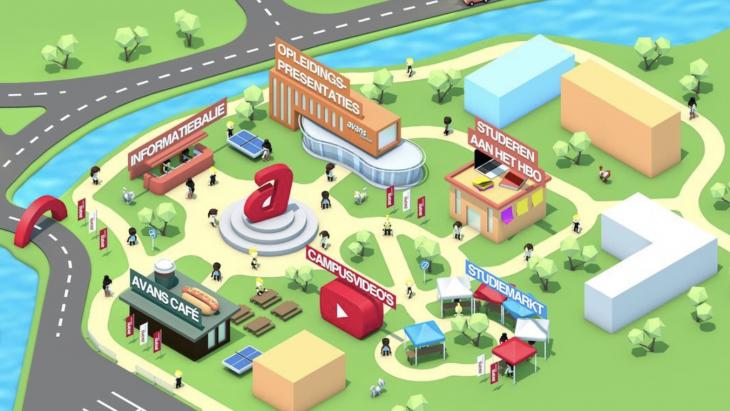 3D Map Avans Hogeschool