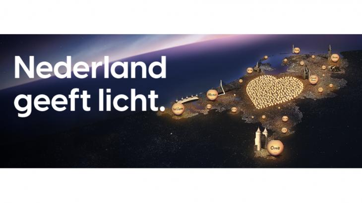 Nederland Geeft Licht met lampionnenactie van KWF Kankerbestrijding