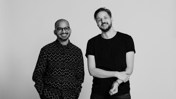 Ashwin Murli en Mark Schoones
