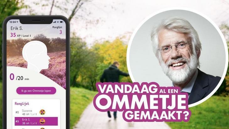 Ommetje-app Hersenstichting