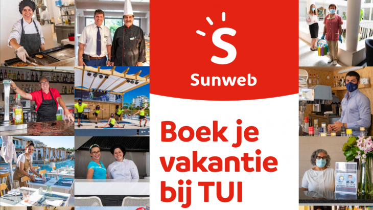 Sunweb advertentie