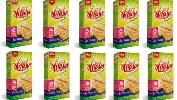Vitalu Crackers Voltarwe, bijna zo zoet als Maria-biscuits