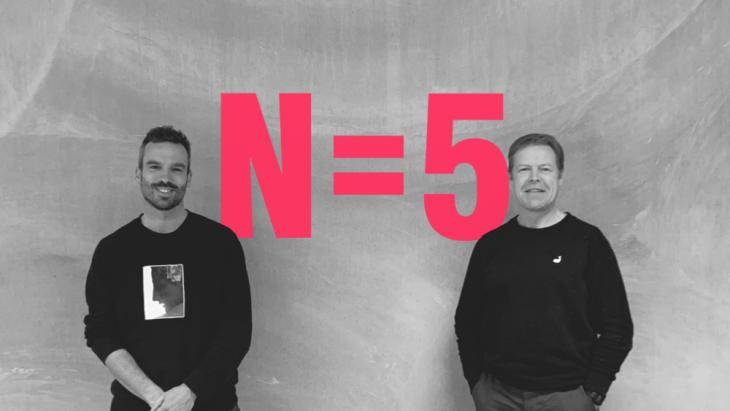 Arnout Robbe en Paul Wagemaker nieuwe creative directors N=5.