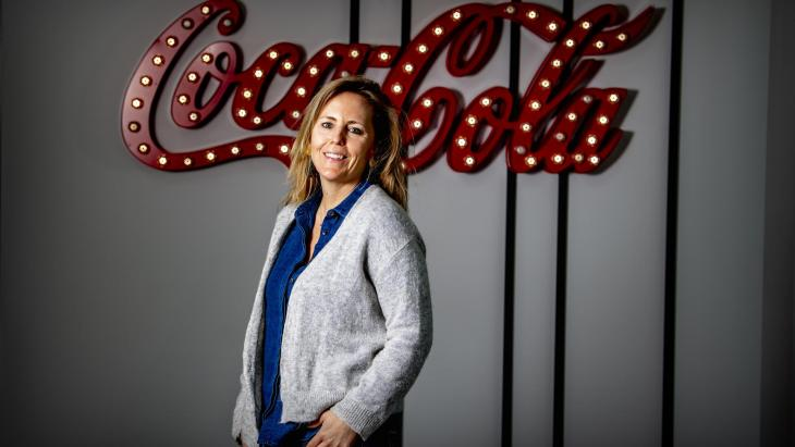Karlijn in 't Veldnieuwe country director Coca-Cola Nederland