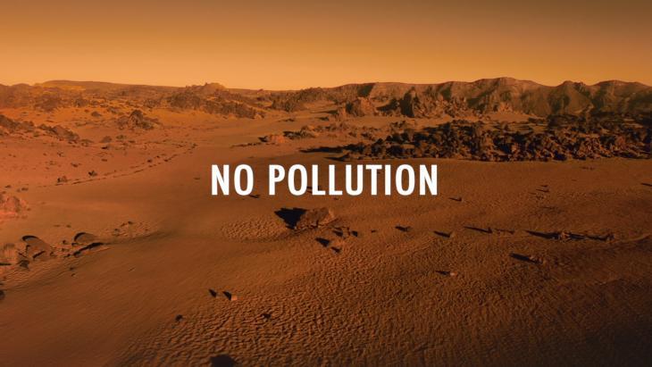 Geen vervuiling