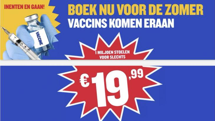 Ryanair 'inenten & gaan' screenshot