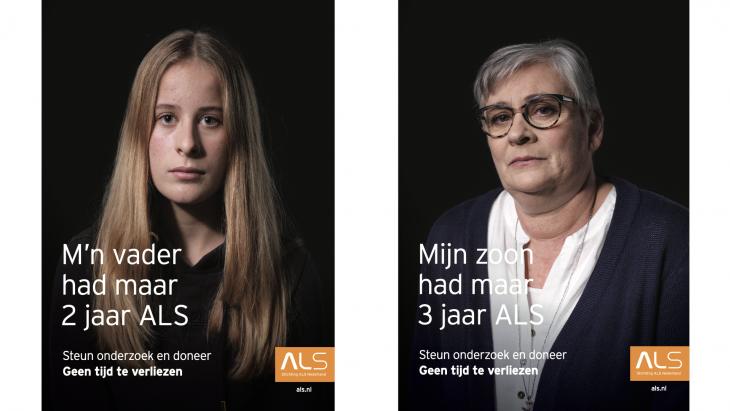 Nieuwe campagne tegen dodelijke ziekte ALS:'Geen tijd te verliezen'