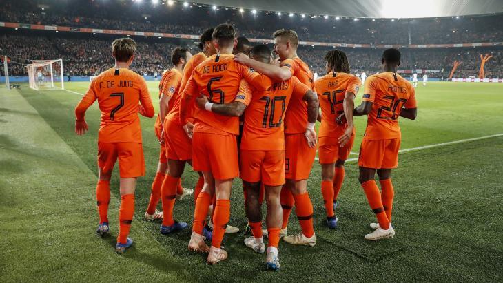Het Nederlands elftal