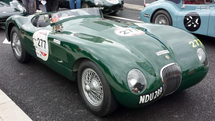 De échte Jaguar C-type