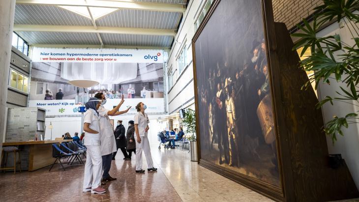 Nachtwacht on Tour - Philips verlengt sponsoring Rijksmuseum met 5 jaar