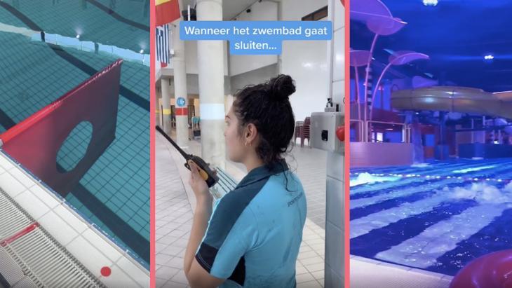 Sportcentrum zwemt in likes met spetterende video's op TikTok
