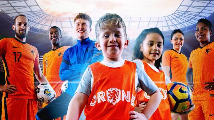 Snelle, Oranje en KNVB brengen met Limonade een ode aan jeugdvoetbal