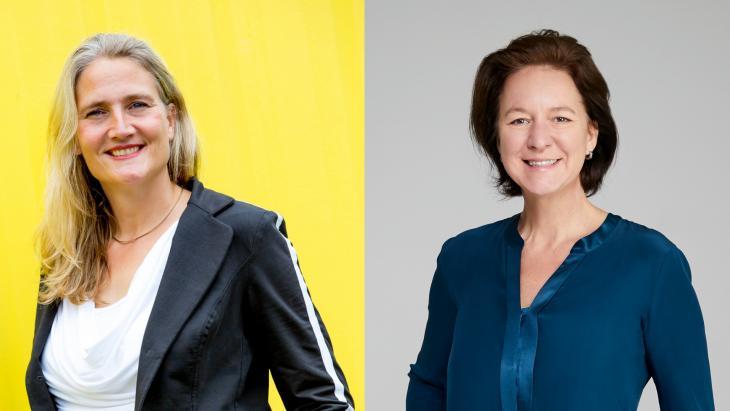 Martine de Vries en Louise Doorn