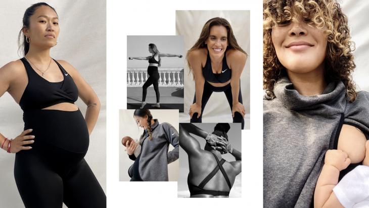 Nike brengt eerbetoon aan de kracht van de zwangere vrouw