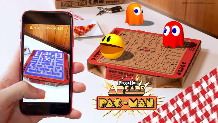 pac man ar pizza hut