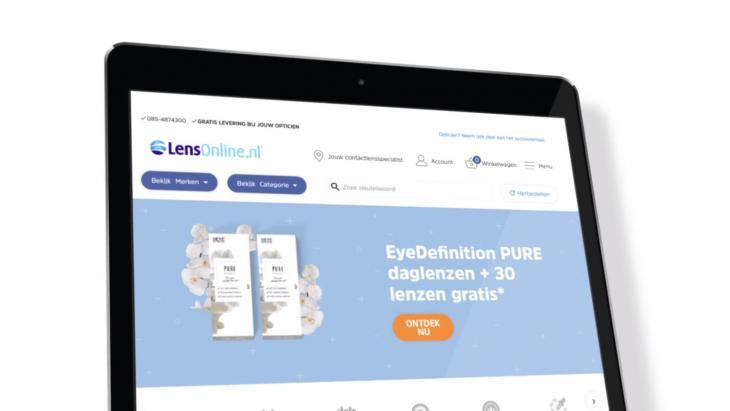 LensOnline.nl verovert Nederlandse markt