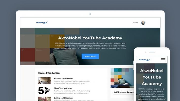 AkzoNobel kiest 5PM voor wereldwijde Youtube marketing-training, na Flexa-project