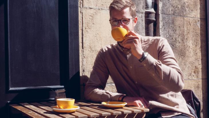 Mede-oprichter Frank & Fresh Coffee, Marc Kluijver