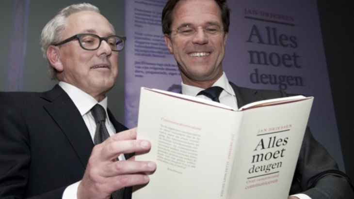 Jan Driessen en Mark Rutte