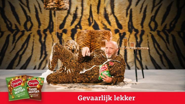 Ruben van der Meer brand ambassador in Duyvis-reclame: Why nut?