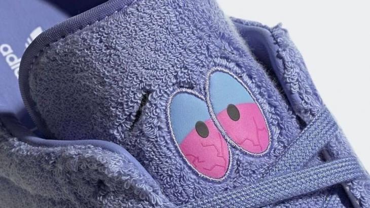 Afbeelding van de exclusieve Adidas x Towelie sneaker