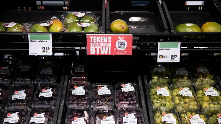 btw-actie groente fruit dirk van den broek -