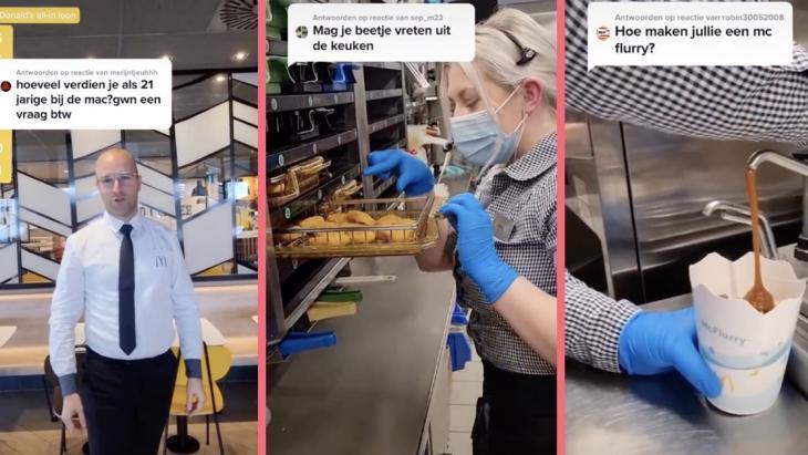 McDonalds Limburg is vermaak op TikTok en dat smaakt naar meer