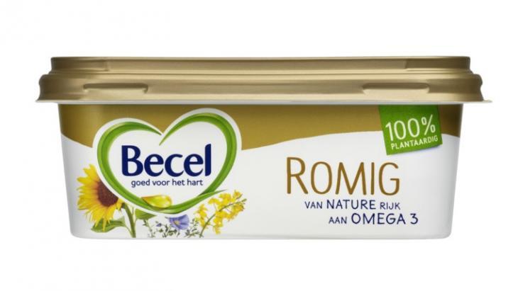 Plantaardige Becel mag 'romig' genoemd worden