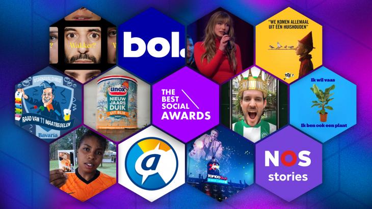 Dit zijn de genomineerden voor de The Best Social Awards Zakelijk