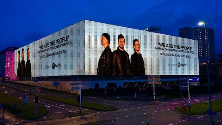 Campagne Reality Outdoor rond EK-song Martin Garrix en U2