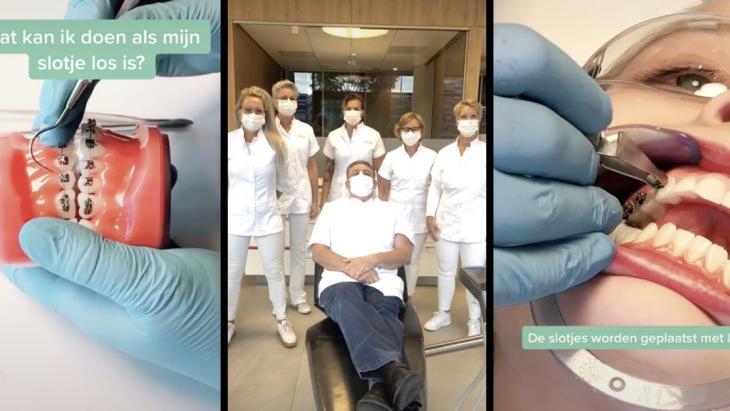 Kelderman Orthodontie TikTok