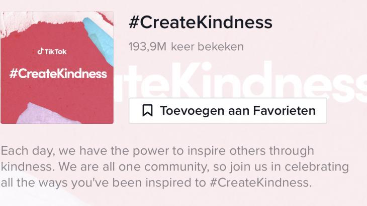 #CreateKindness